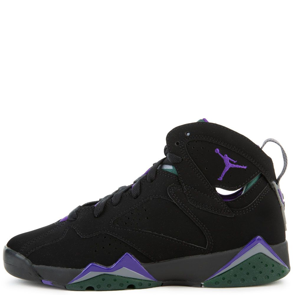 timeless design f4220 c3235 (GS) AIR JORDAN 7 RETRO BLACK/FIELD PURPLE-FIR-DARK STEEL GREY