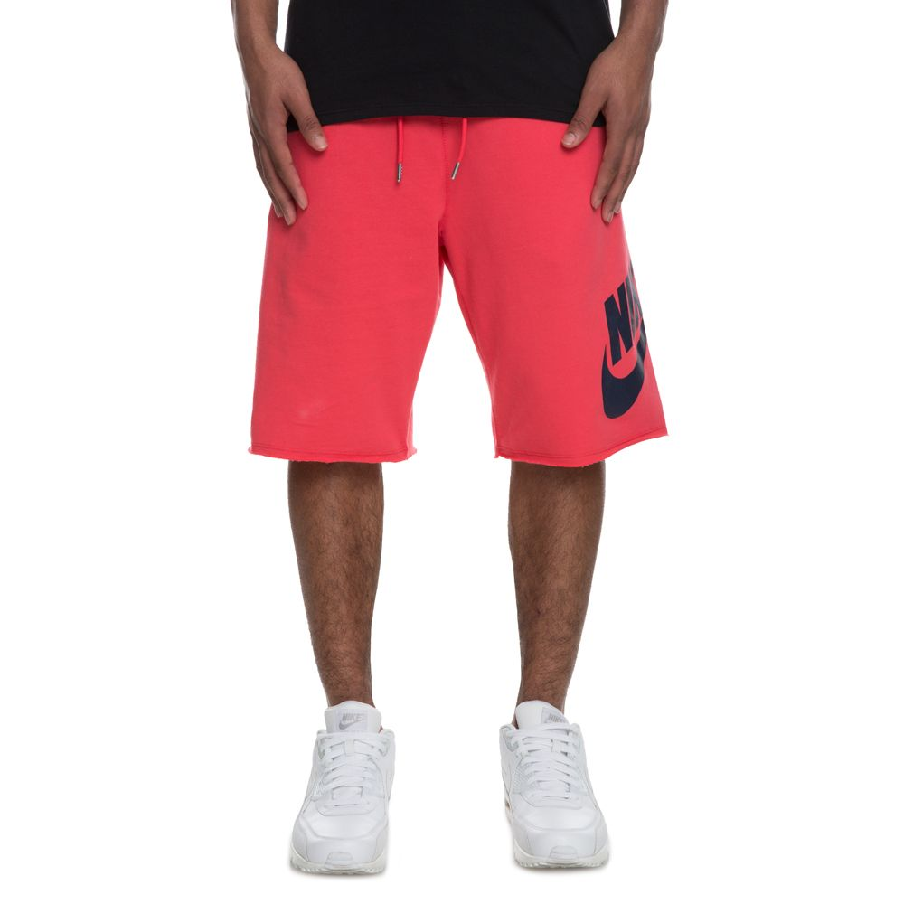 pink nike shorts