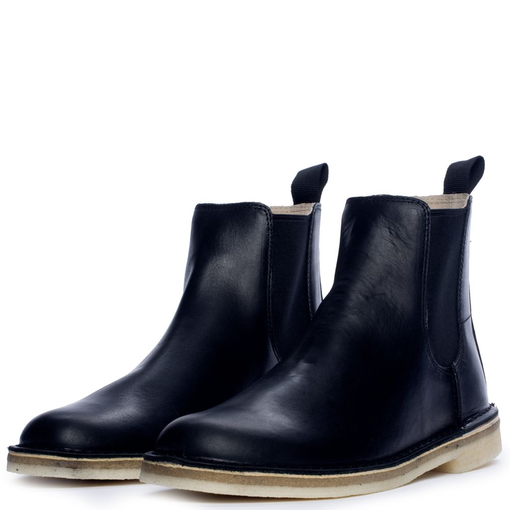 new product attractive price classic style Men's Desert Peak Boot BLACK LEATHER