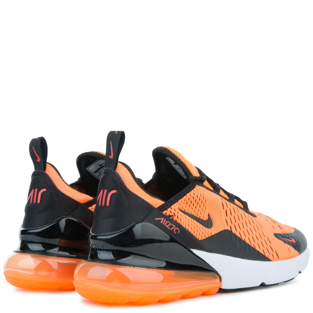 Air Max 270 Team Orange Black White Chile Red