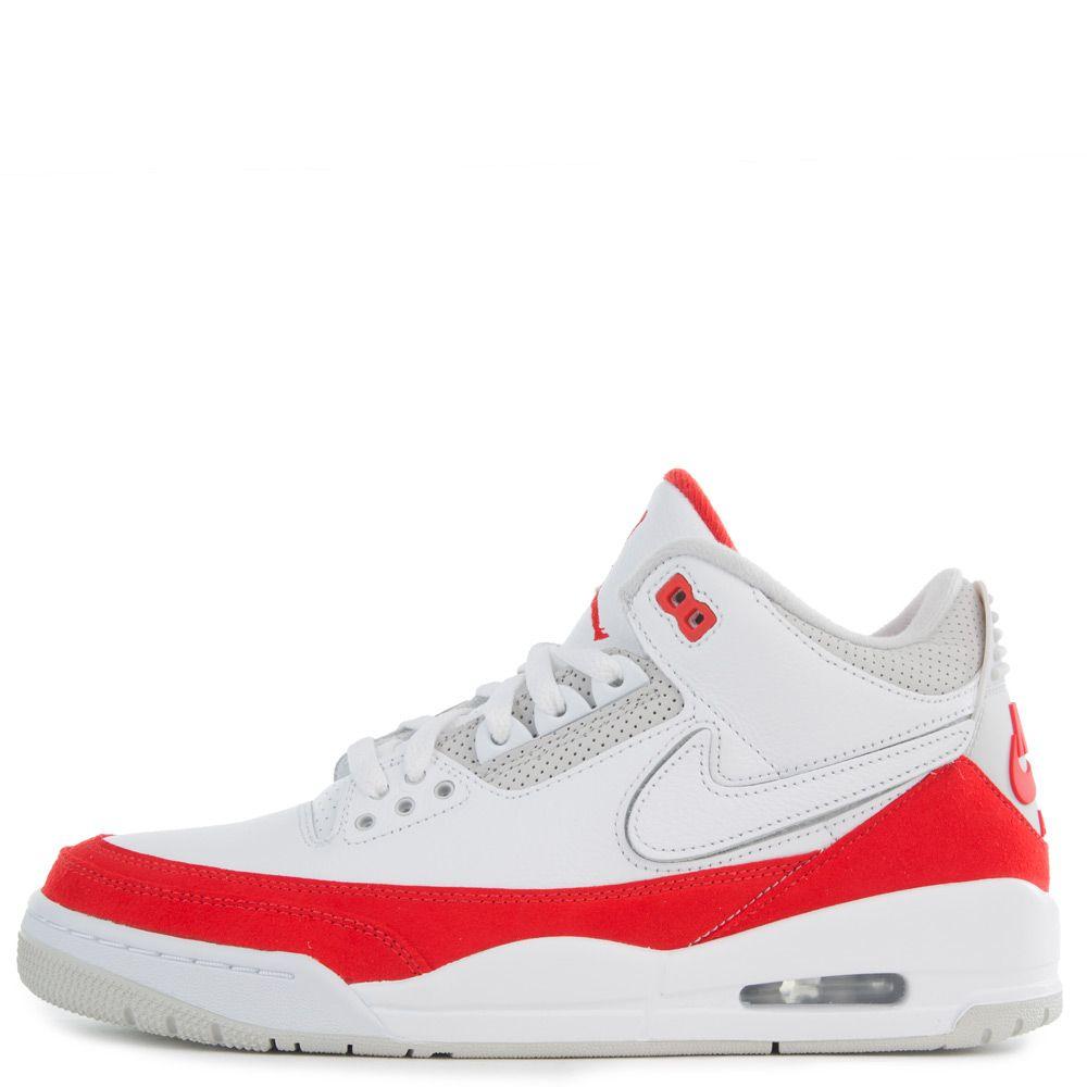hot sale online 6cb45 761f8 AIR JORDAN 3 TINKER WHITE/UNIVERSITY RED-NEUTRAL GREY