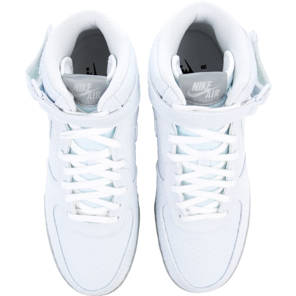 AIR FORCE 1 MID '07 LV8 WHITEWHITE WHITE METALLIC SILVER