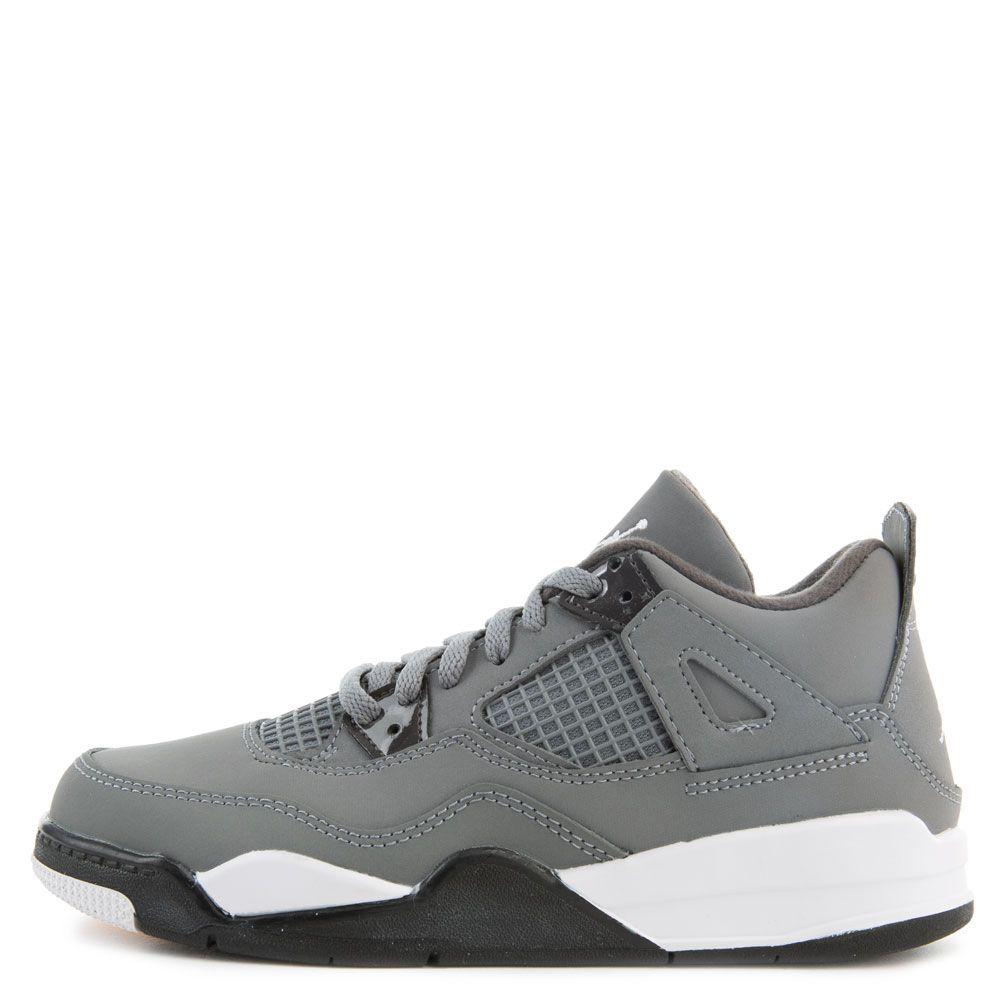best sneakers 4a509 abf12 (PS) Air Jordan 4 Retro Cool Grey/Chrome-Dark Charcoal