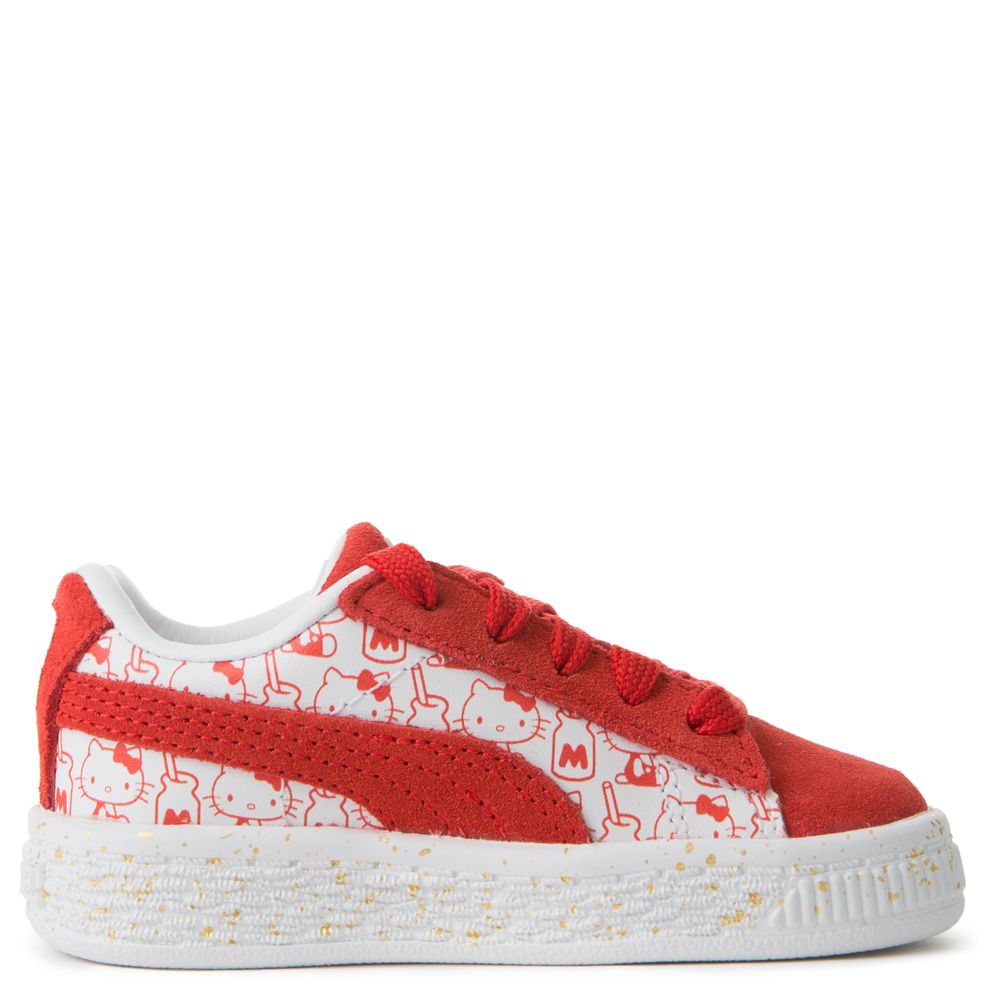 PUMA x HELLO KITTY Infant Suede  Bright Red-Bright Red