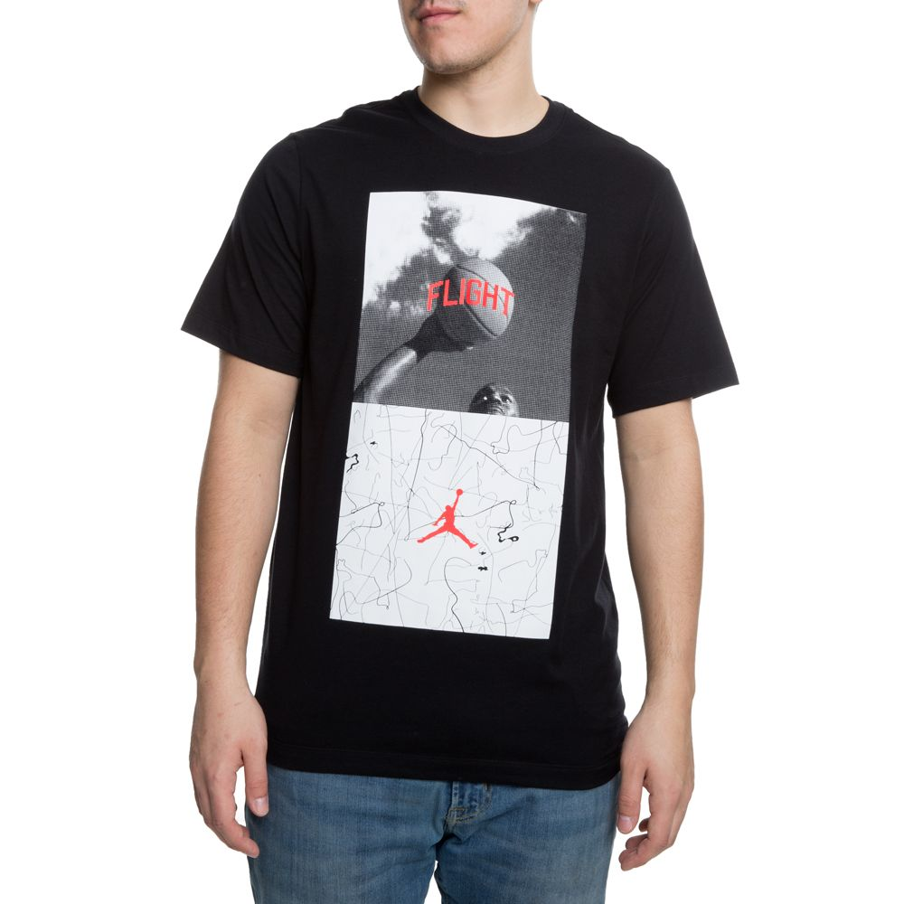 WING IT Nike Men/'s Air Jordan Retro 2 Black T-Shirt LARGE