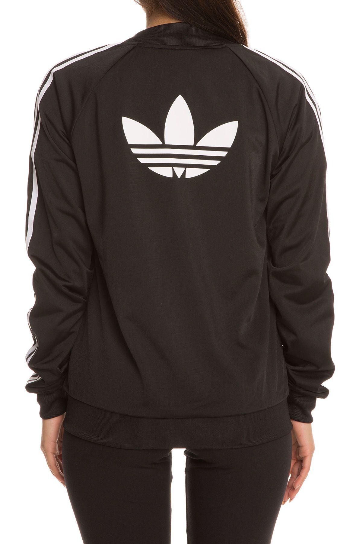 adidas Jacket Superstar Track Top Black