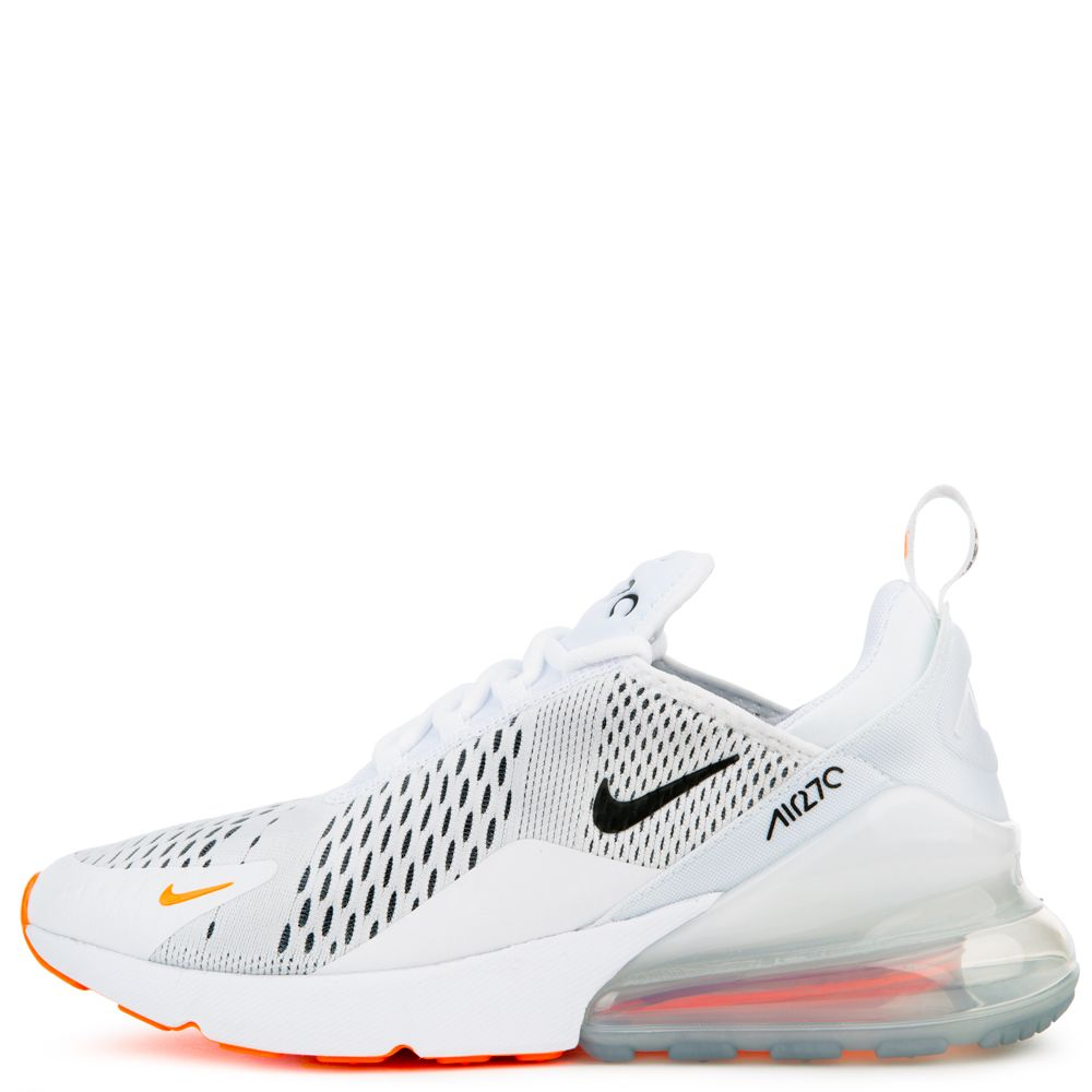 air max 270 white orange black