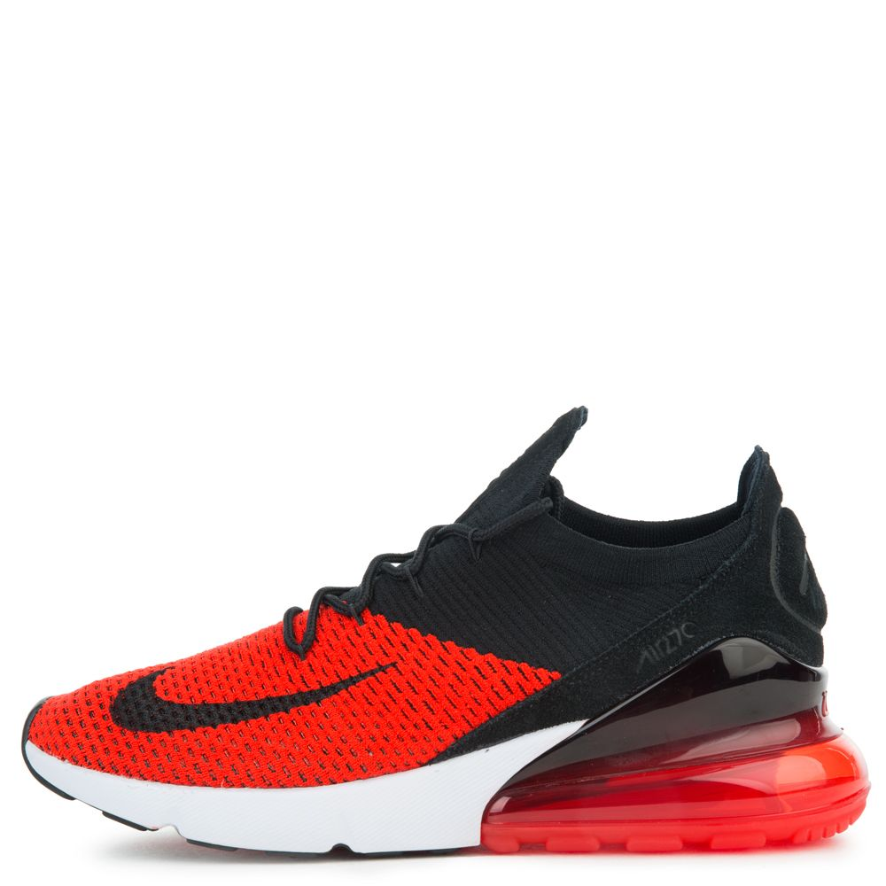 timeless design da2d1 e5945 air max 270 flyknit chile red/black-challenge red-white