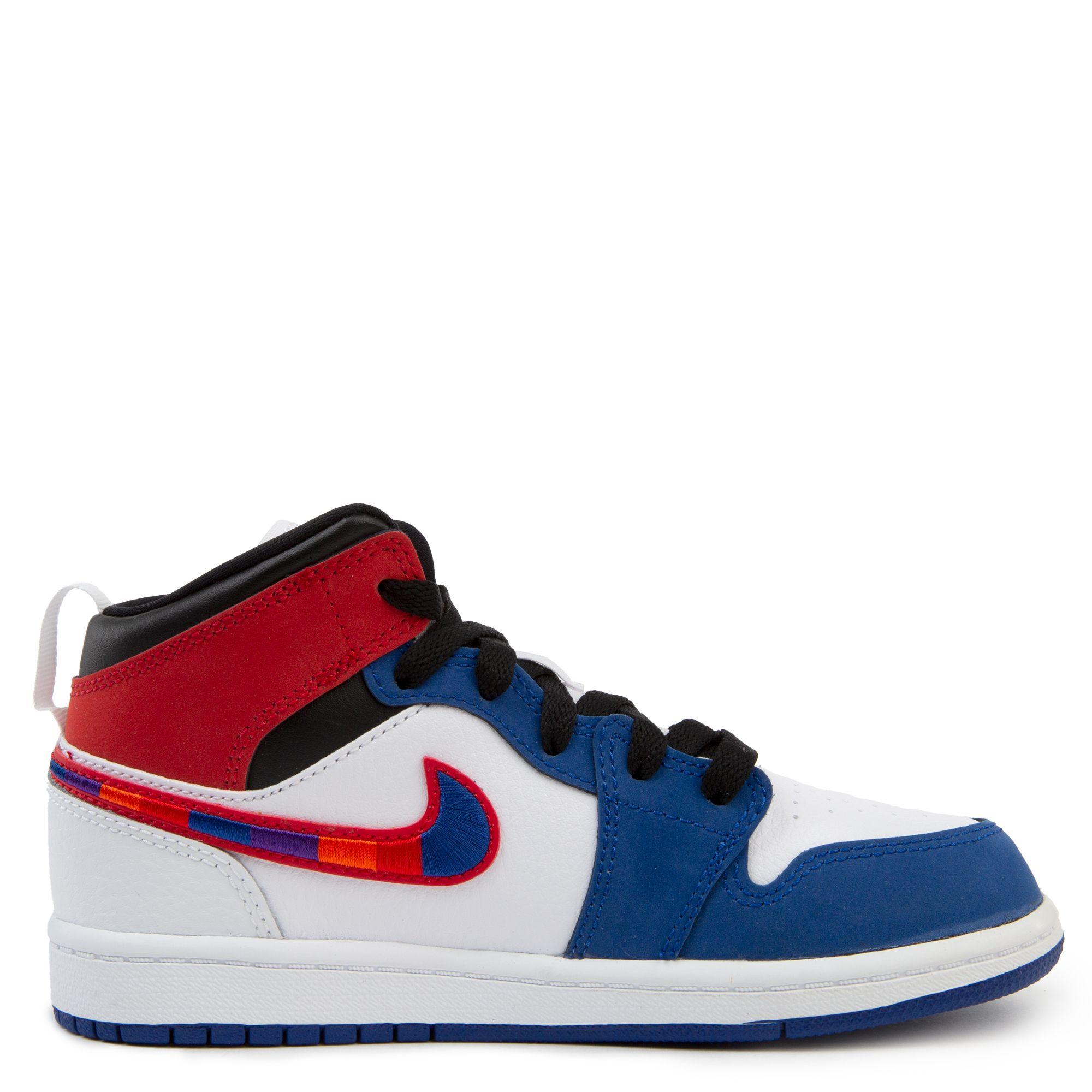 air jordan 1 red white blue