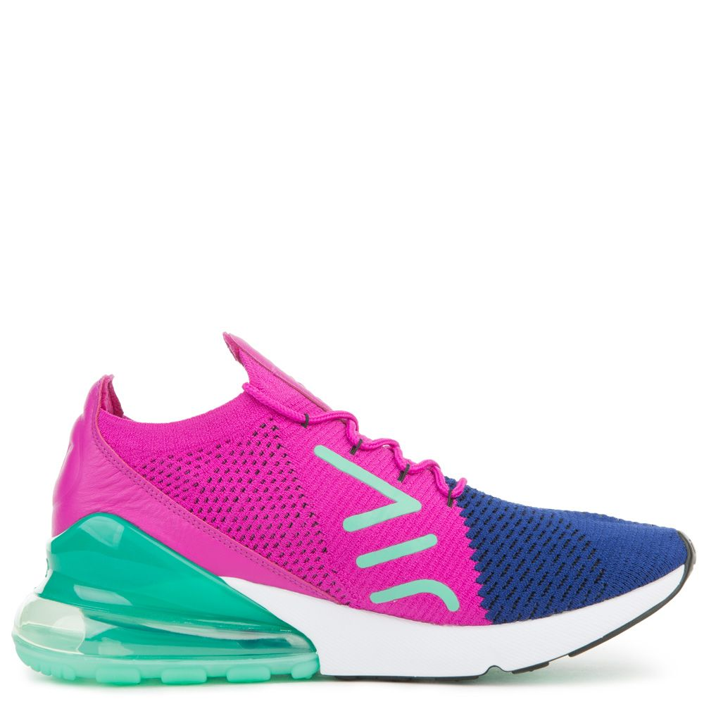 cheap prices lace up in best sneakers AIR MAX 270 FLYKNIT DEEP ROYAL BLUE/BLACK/FUCHSIA FLASH