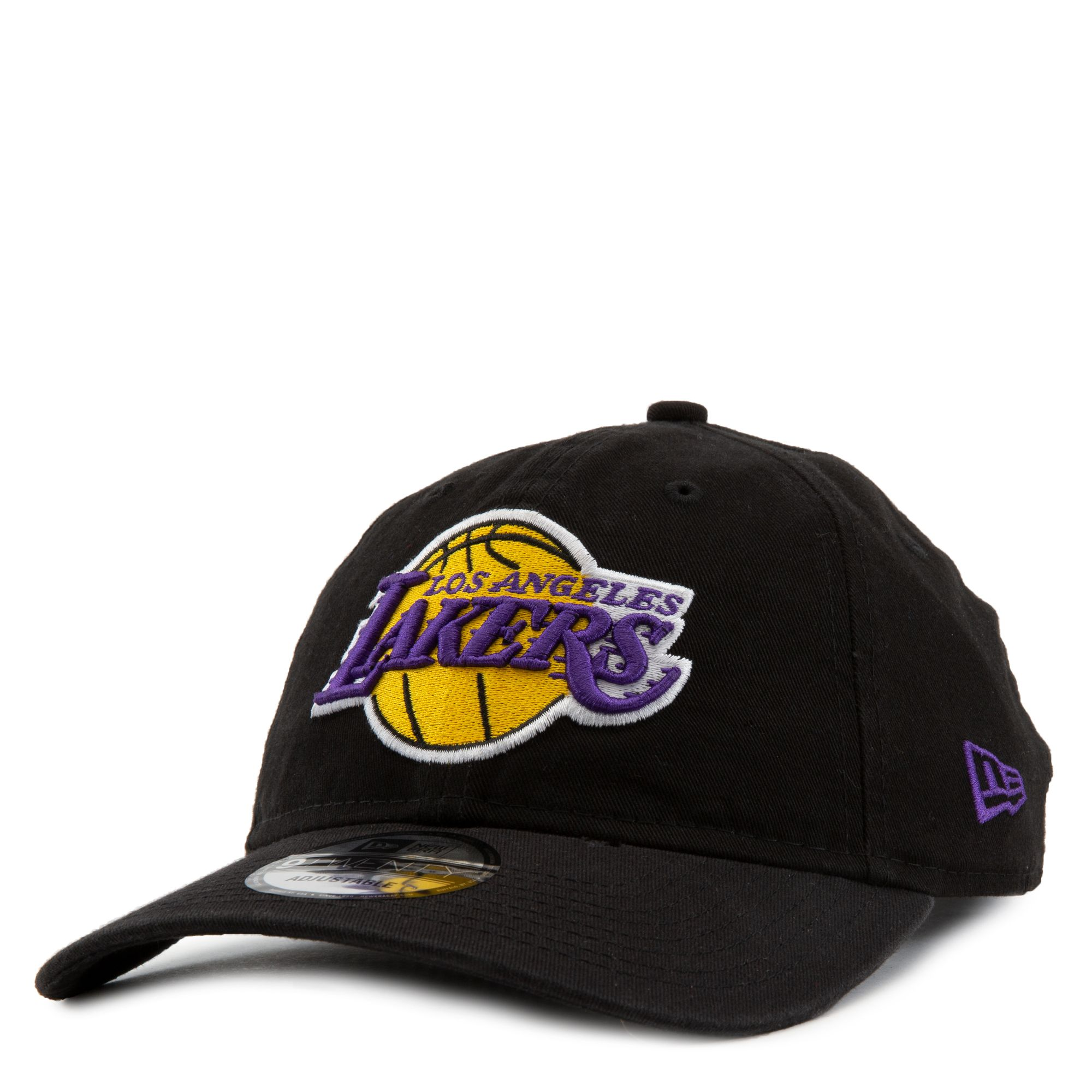 Los Angeles Lakers Core Classic 9twenty Hat Black Gold Purple