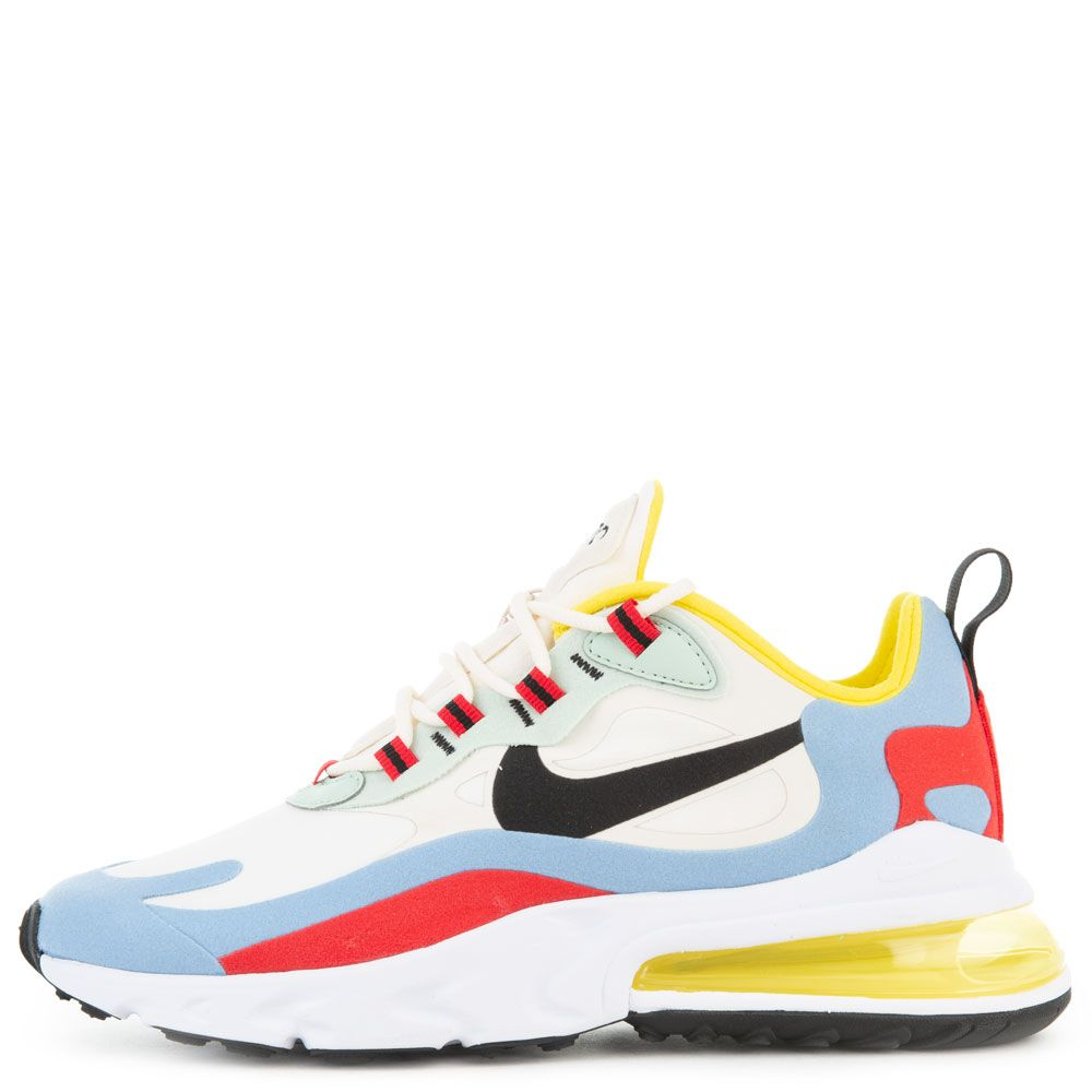 Women S Air Max 270 React Phantom Black Light Blue University Red