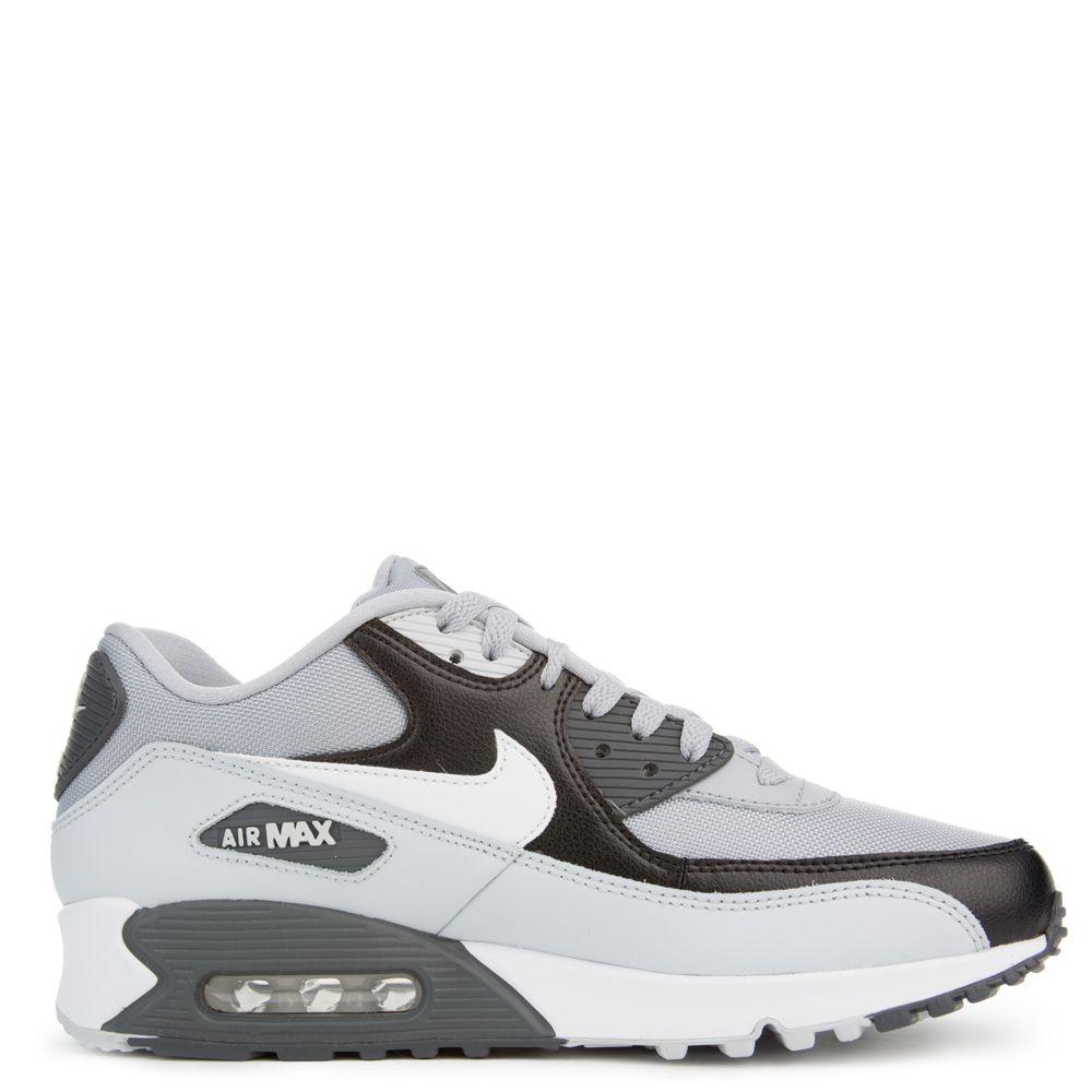 Nike Air Max 90 Essential Mens Size 9 Wolf Grey White Pure 537384 083 Platinum