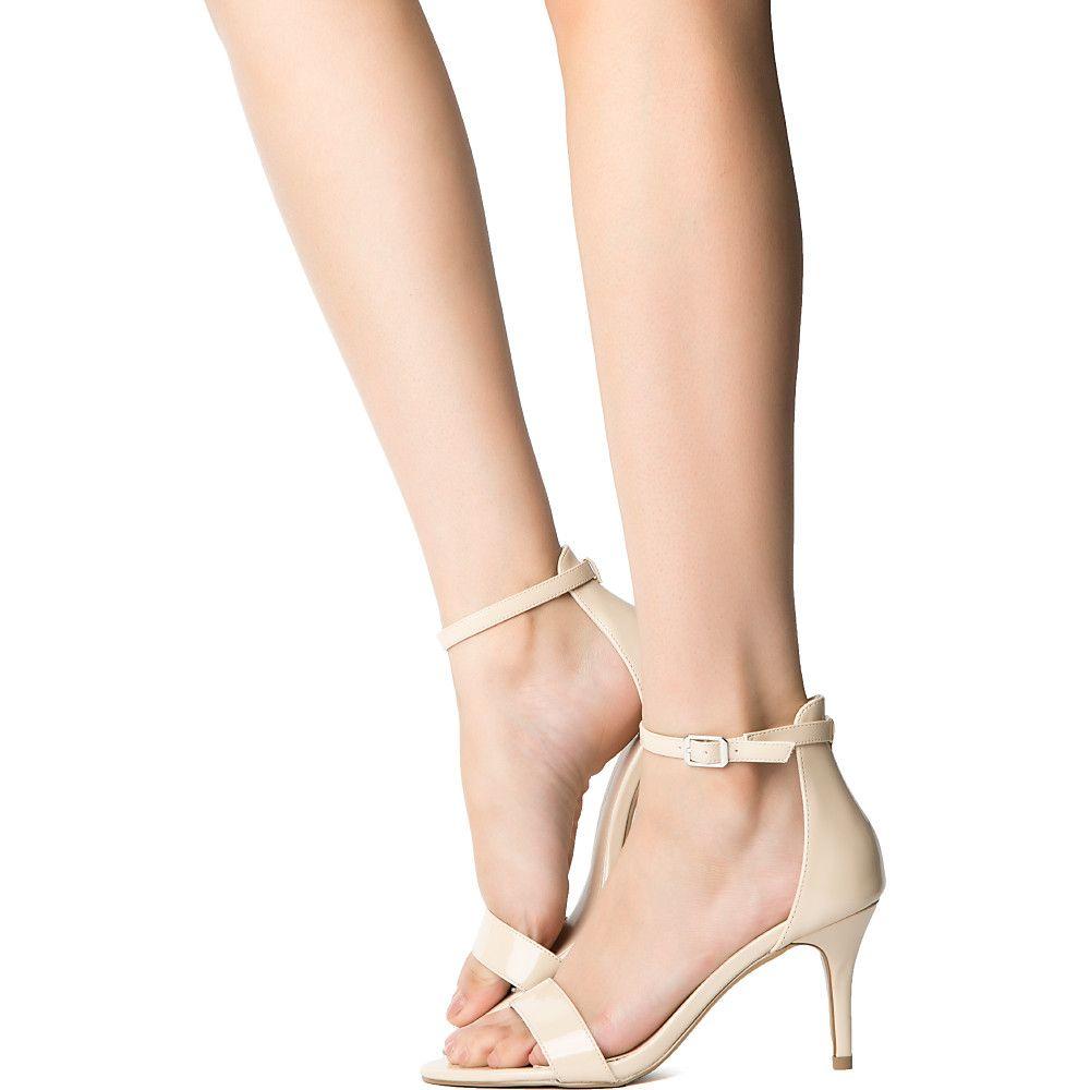 Low Nude Heels