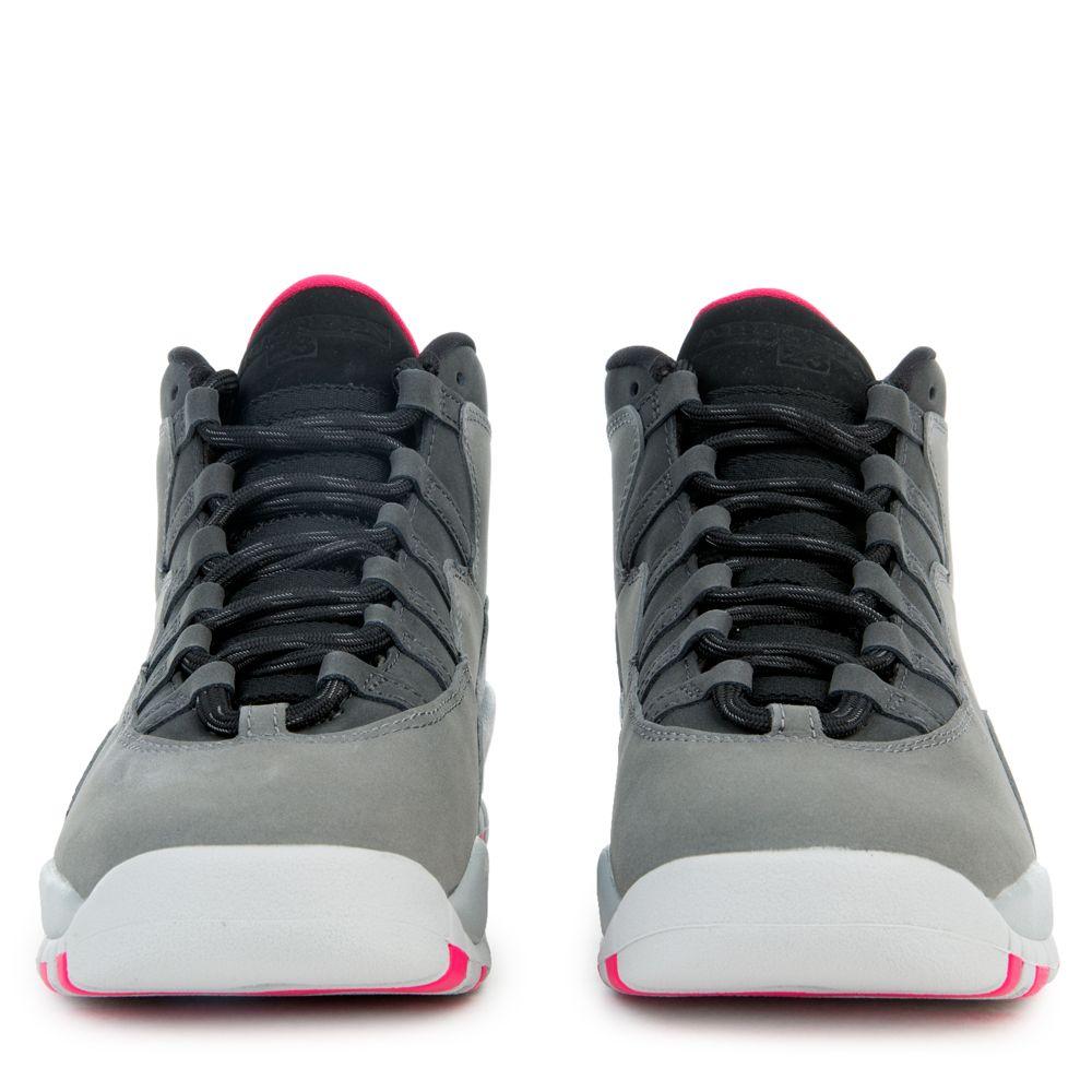 "Grade School Youth Size Nike Air Jordan Retro 10 /""Smoke Grey/"" 487211 006 Suede"