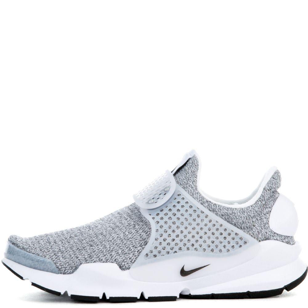 best sneakers a630e 31790 W SOCK DART SE SHOE WHITE/BLACK-METRO GREY
