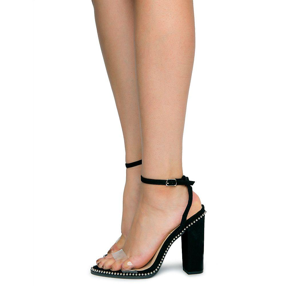 Women's Edgar-26 High Heels BLACK