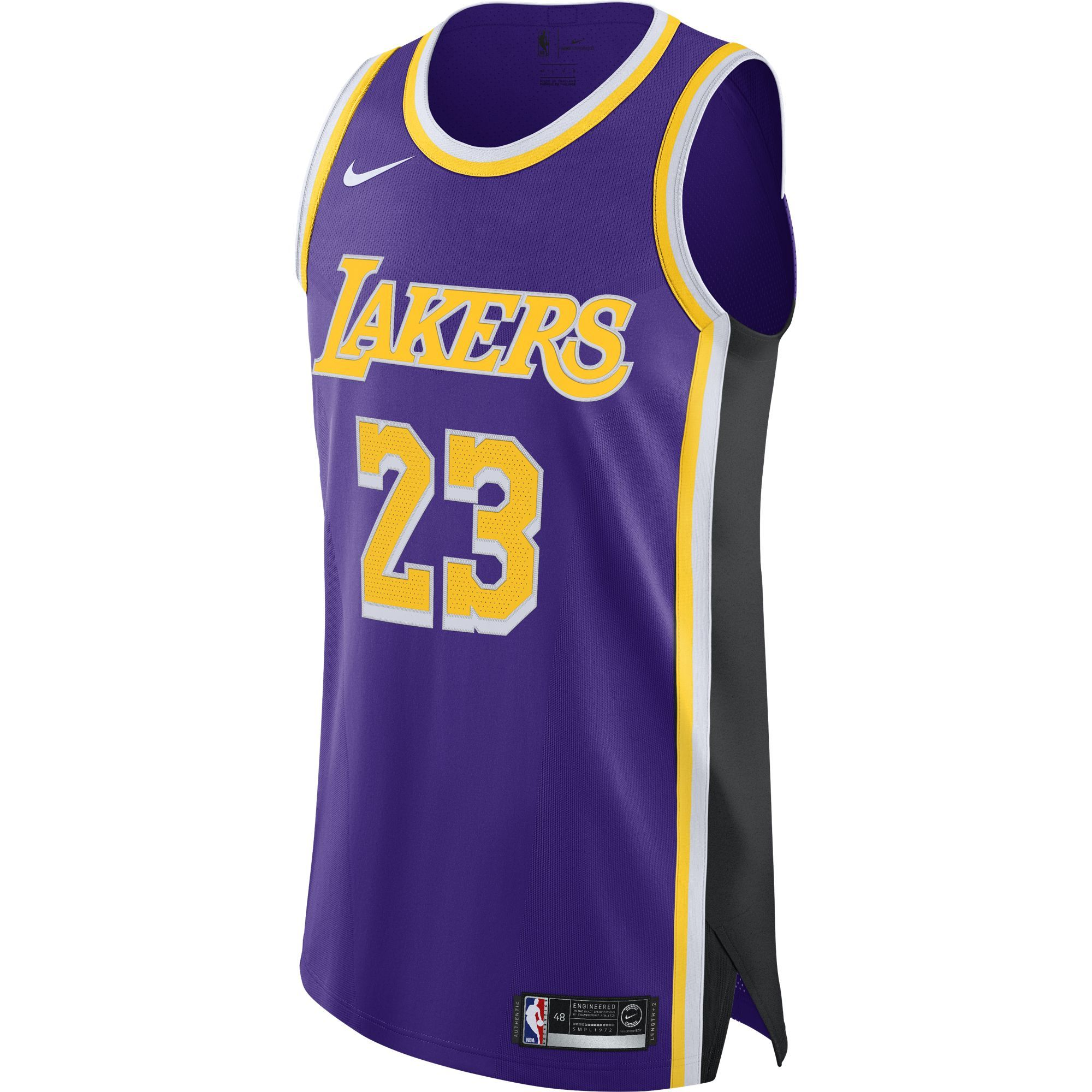 LEBRON JAMES LOS ANGELES LAKERS STATEMENT EDITION JERSEY
