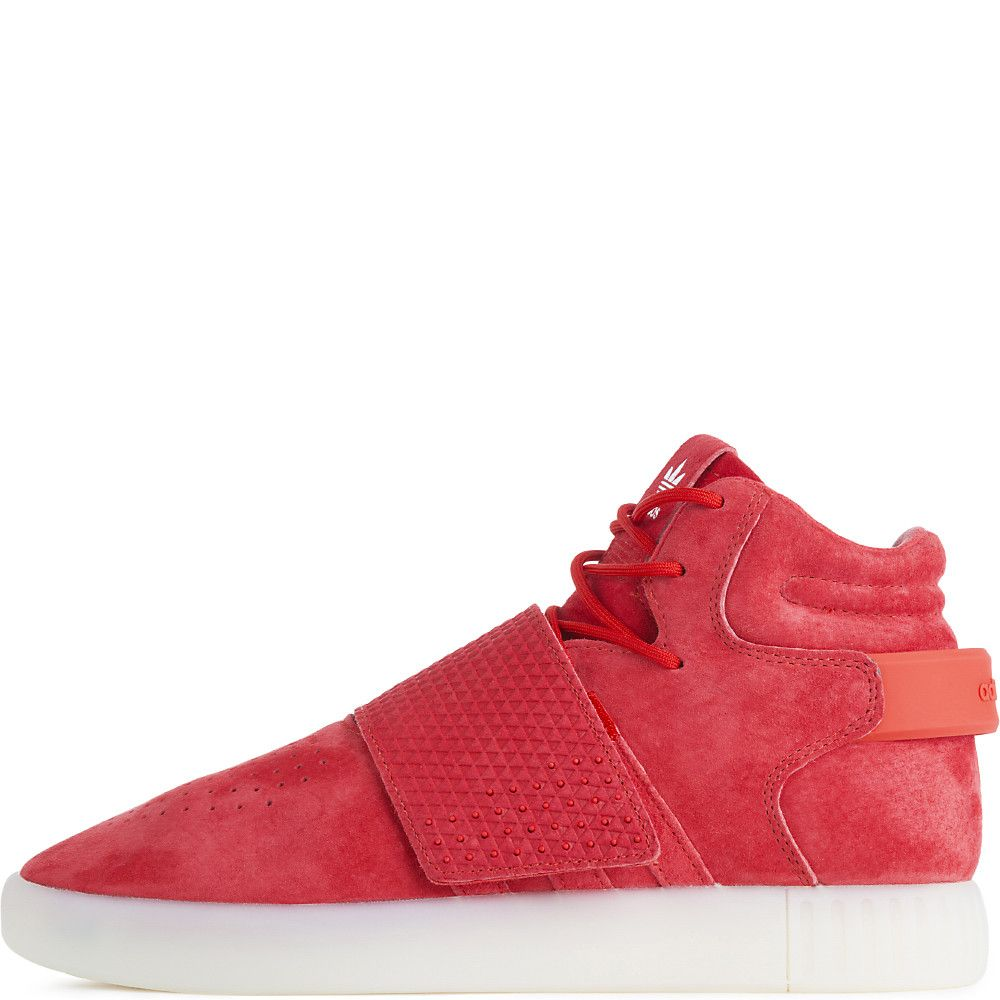 cheap for discount b7bbd e9f0e Men's Tubular Invader Strap Casual Lace-Up Shoe Red