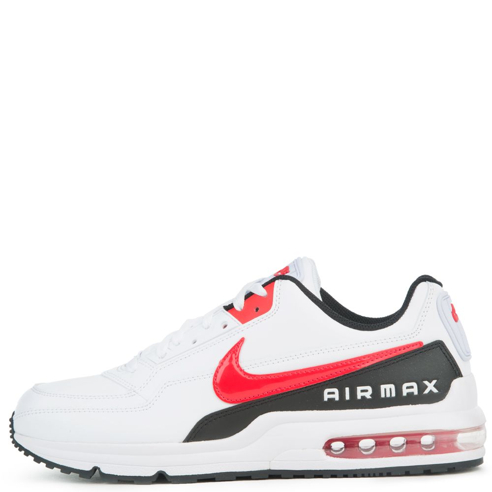 AIR MAX LTD 3 WHITEUNIVERSITY RED BLACK