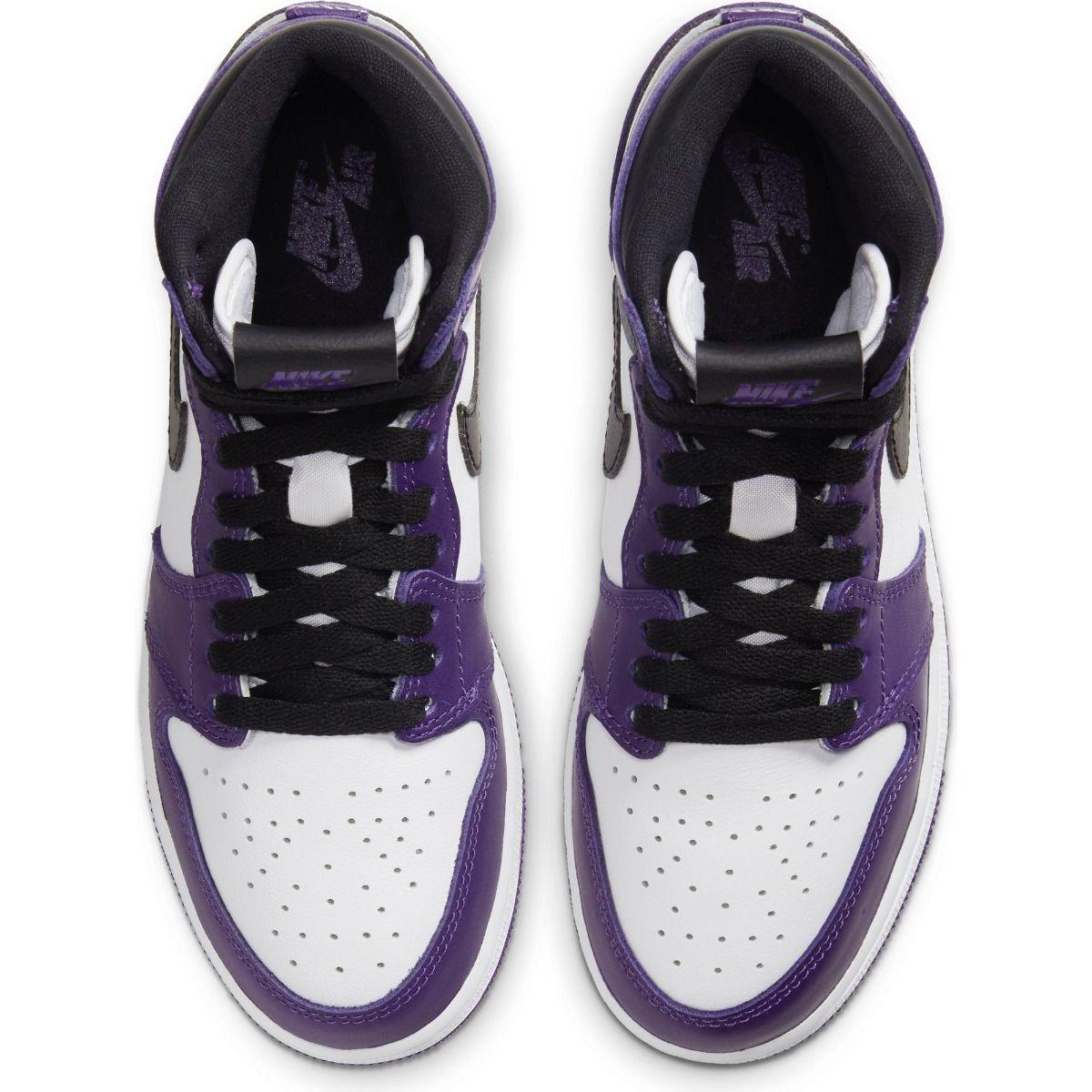 air jordan 1 court purple gs raffle