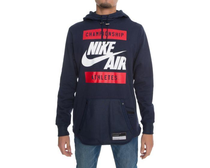 Nike Air Pullover Hoodie Black