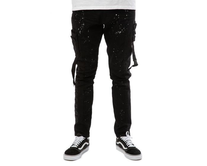 Sheego Pantalon Schlupfhose Jogpants la bande élastique noir TAILLE 40 à 58 357 424