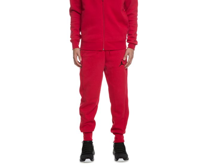 the latest bc38b 5fa7f Jordan Flight Fleece WC Pants GYM RED BLACK