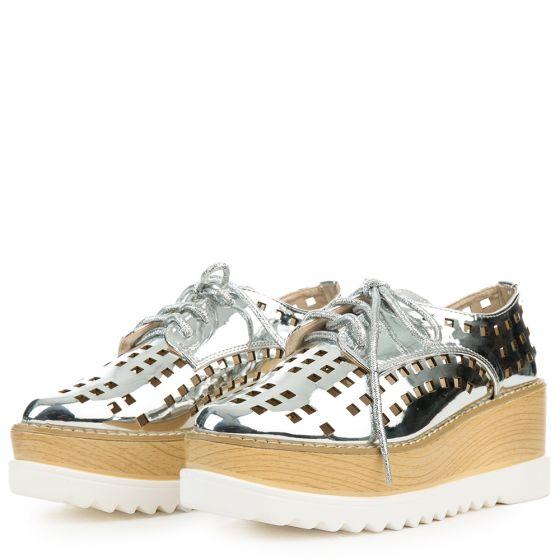 Cape Robbin Fara Wedge Platform Sneaker gRGtG3