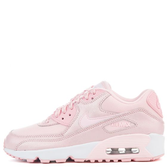 nike air max 90 se mesh gs prism pink prism pink white. Black Bedroom Furniture Sets. Home Design Ideas