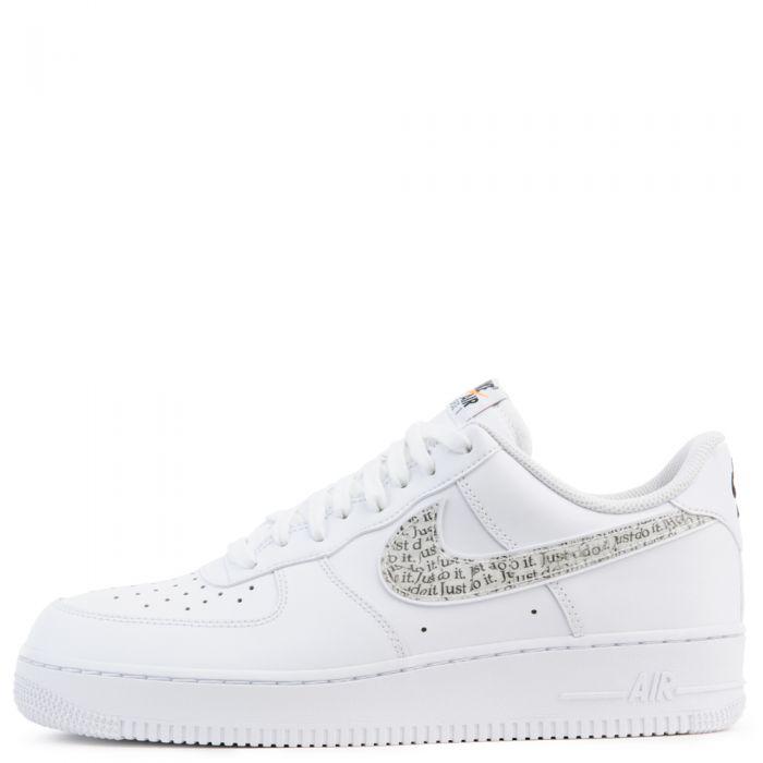 Shoes NIKE Air Force 1 '07 Lv8 Jdi Lntc BQ5361 100 WhiteWhiteBlackTotal Orange
