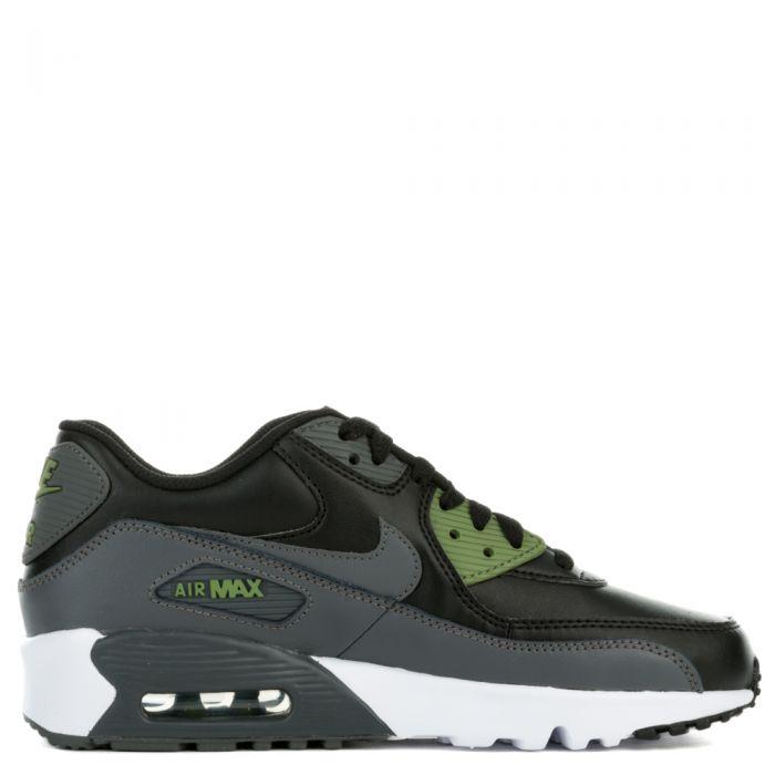 Nike Air Max 90 Mesh (GS) Schuhe black dark grey palm green