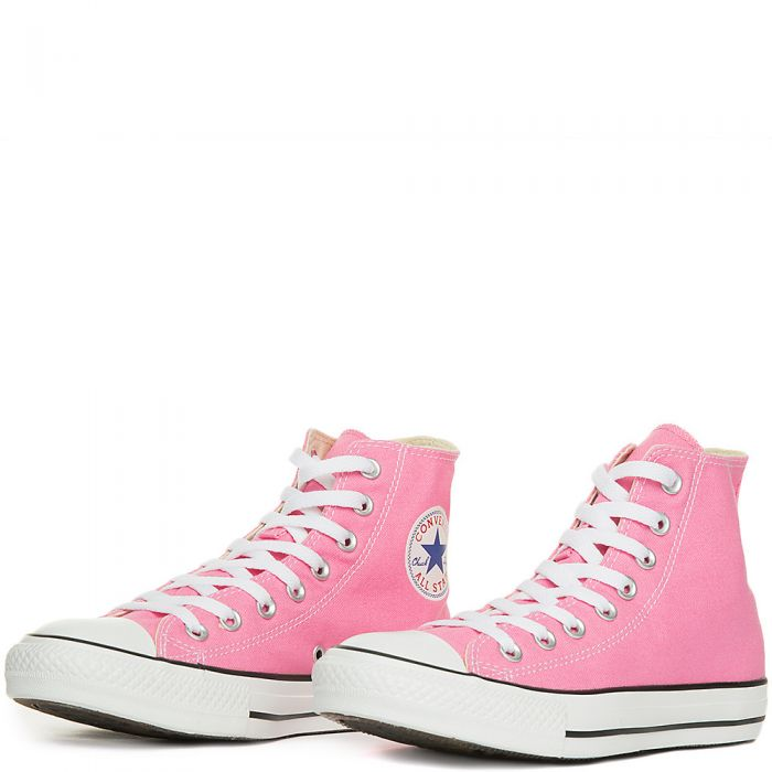 bf71a71aca09 Mens All Star Hi Pink Canvas