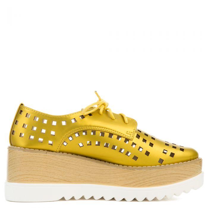 Cape Robbin Fara-3 Women's Yellow Oxford Mustard