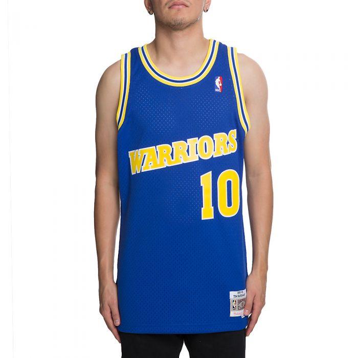 online store f7536 3ed8e Men's Golden State Warriors Tim Hardaway Jersey Royal