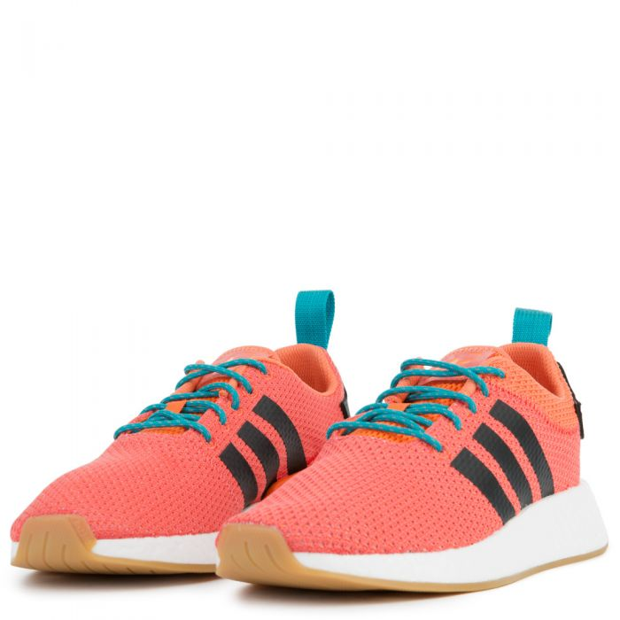 new product 87871 9f17f Adidas Sneaker NMD R2 Summer Orange Gum3 White