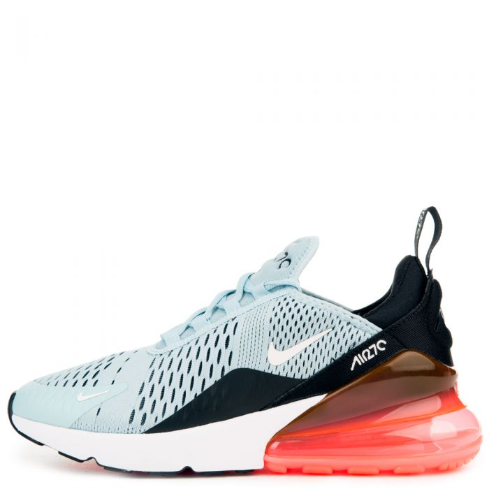 Nike Women's WMNS Air Max 270, Ocean BlissWhite Black HOT Punch, 6 M US