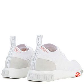 f689462e2 ... The Women s NMD Racer Primeknit in White and Trace Scarlet White Scarlet  ...