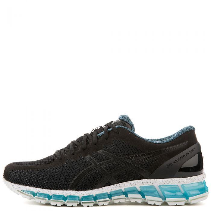 brand new a05c6 251f3 Men's Gel-Quantum 360 CM Athletic Running Sneaker Black/Blue/White