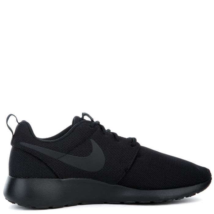 the latest f0227 4afc3 foldable nike roshe one mens black grey anthracite white sports shoes shoes   w nike roshe one black grey