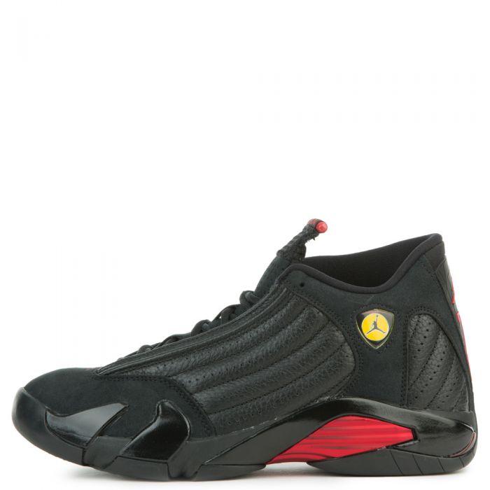 sports shoes 46c02 6efd9 MEN'S AIR JORDAN 14 RETRO BLACK/VARSITY RED