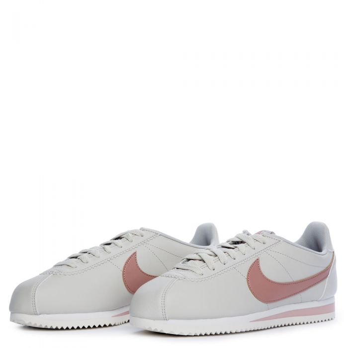 reputable site 00418 871c3 WOMEN'S NIKE CLASSIC CORTEZ LIGHT BONE/PARTICLE PINK-SUMMIT ...