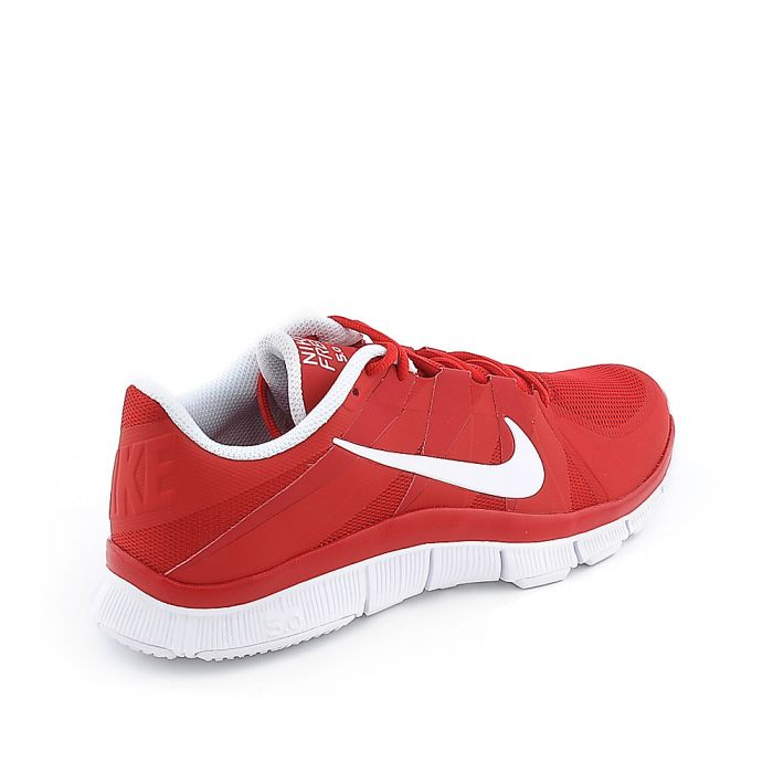 new styles 16b84 cc12a Mens Free Trainer 5.0 University Red/White