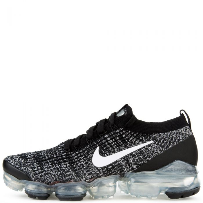 uk availability 504a2 28996 Air Vapormax Flyknit 3 Black/White-Metallic Silver