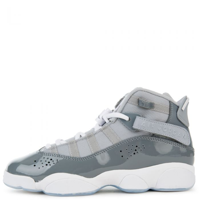 half off 7991e 8593b (GS) 6 RINGS COOL GREY/WHITE-WOLF GREY