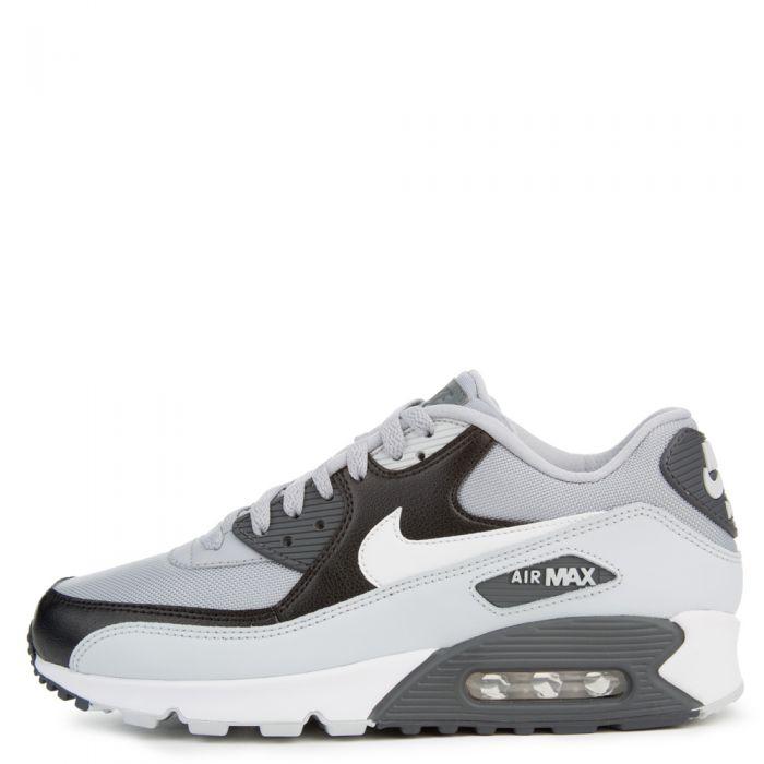 Nike Air Max 90 Essential Wolf GreyWhite Pure Platinum Black 537384 083