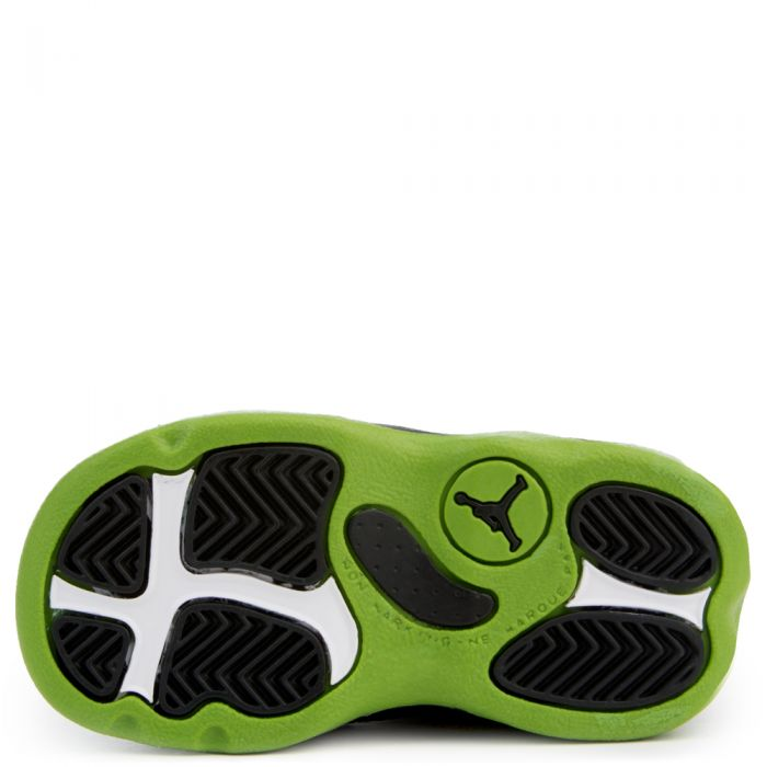 sale retailer 1b950 9faa1 Jordan 13 Retro BLACK/ALTITUDE GREEN-WHITE