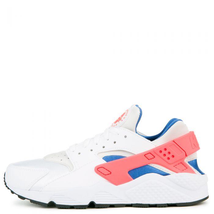 Nike Air Huarache Mens 318429 112 Ultramarine Solar Red Running Shoes Size 12