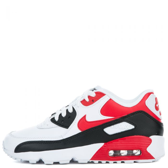 Special Nike Air Max 90 Leather (WhiteUniversity RedBlack