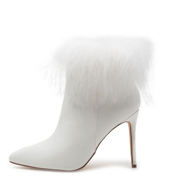 Stallion-1 Fur Heel Booties